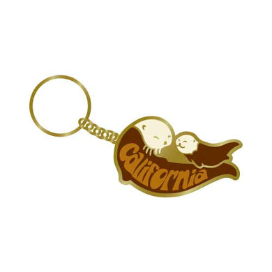 California Sea Otter Keychain