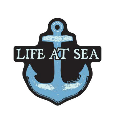 Life At Sea Anchor Sticker