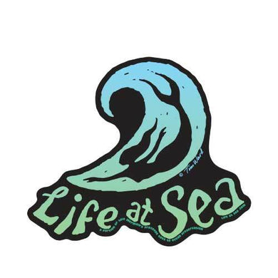 Life At Sea Body Surf Mermaid Sticker