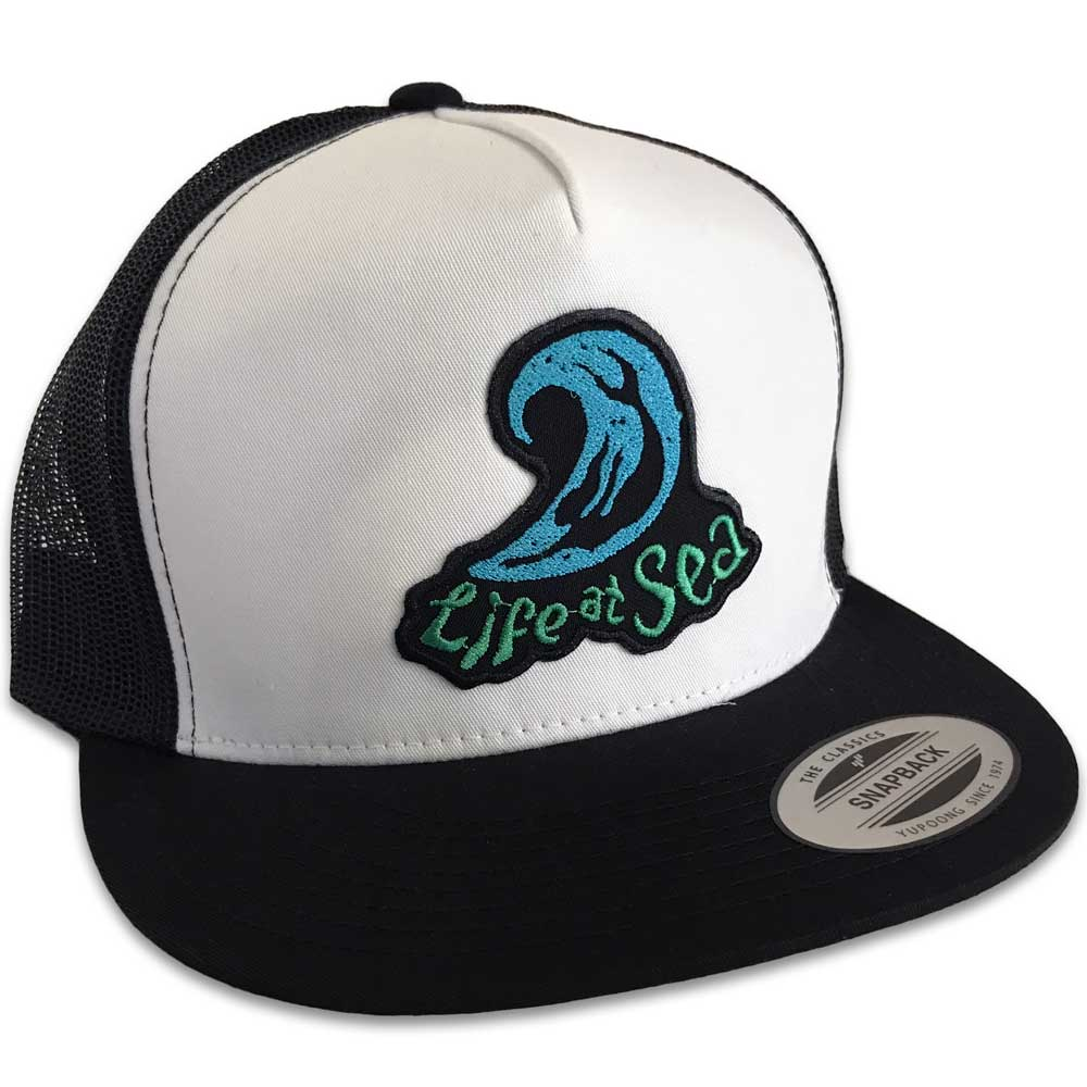 Life At Sea Bodysurf Mermaid Hat (Wht/Blk Trucker)