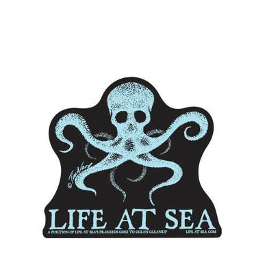 Life At Sea Octo Bones Sticker