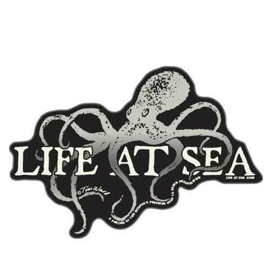 Life At Sea Octopus Sticker