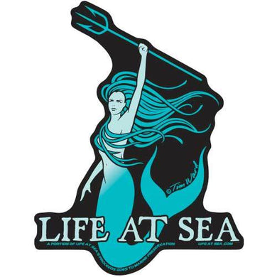 Life At Sea Vida Marina Sticker [Blue]