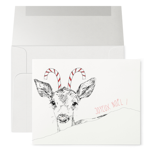 Candy Christmas Fawn