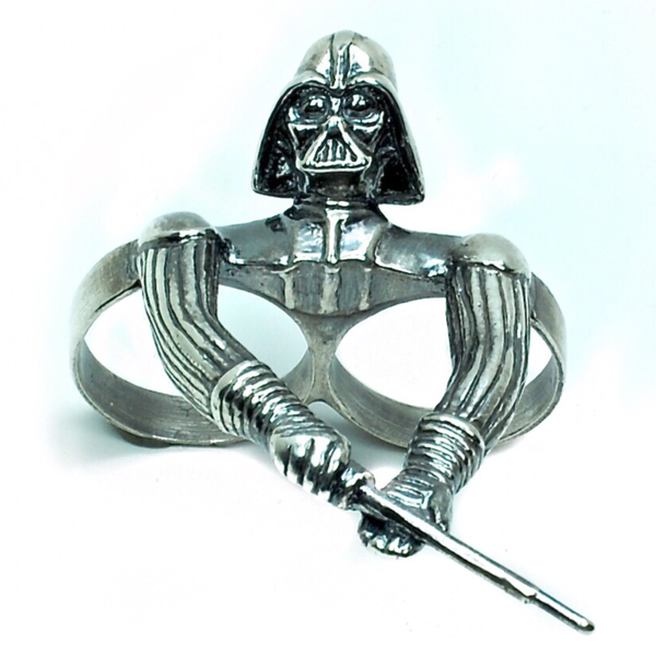 Darth Vader Two Finger Ring - Tempeste