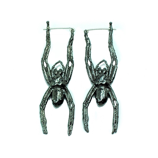 Hanging Spider Earrings - Tempeste