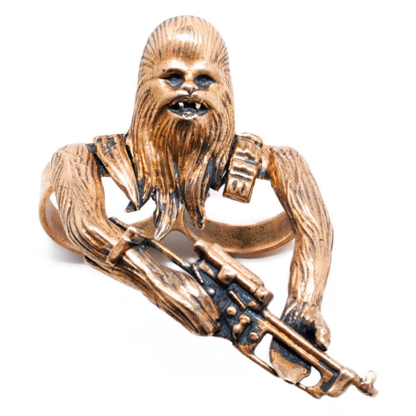 Chewbacca Two Finger Ring - Tempeste