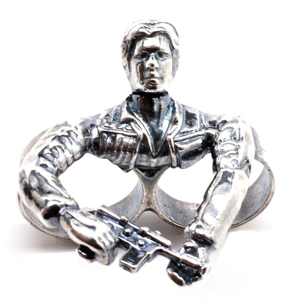 Hans Solo Two Finger Ring - Tempeste