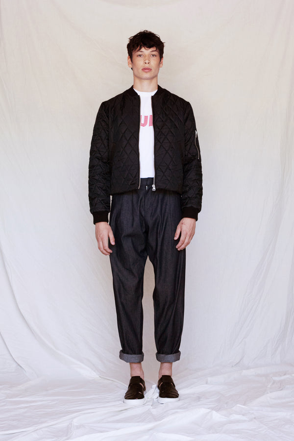 Diamond Quilted Bomber - Tempeste