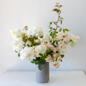 A La Mode Rose Arrangement - Sage Sisters