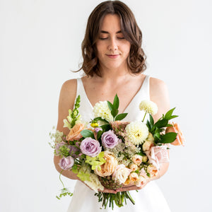 Blush Bridal Bouquet - Sage Sisters
