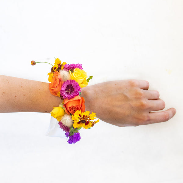 Cheer Cuff Corsage - Sage Sisters
