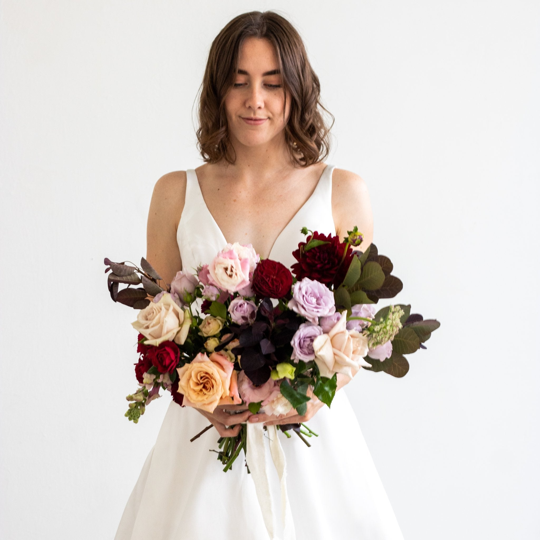 Lavish Bridal Bouquet - Sage Sisters
