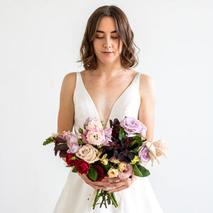 Lavish Bridesmaids Bouquet - Sage Sisters