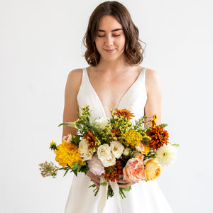 Sunshine Bridal Bouquet - Sage Sisters