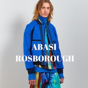 Abasi Rosborough NYC Menswear Designer