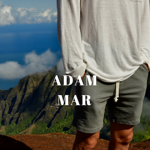 ADAM MAR MONTAUK MENSWEAR FASHION DESIGNER