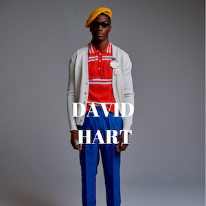 David Hart NYC Menswear Designer