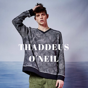THADDEUS O'NEIL CFDA VOGUE FASHION FUND MENSWEAR DESIGNER