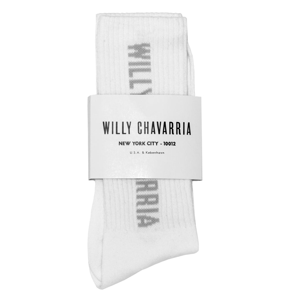 Willy Chavarria Willy Sock in White