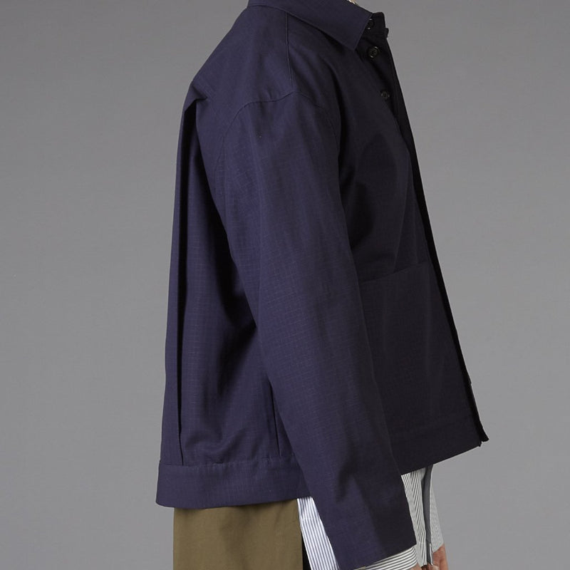 Grei New York Navy Shorty Jacket