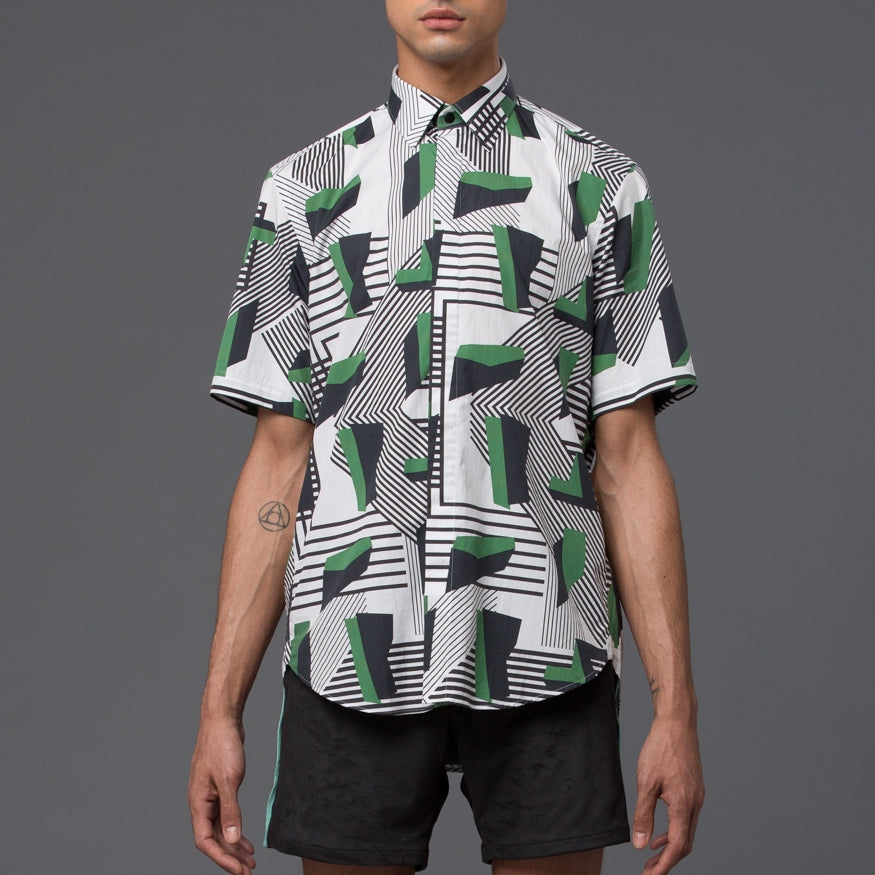 Deco Print Dress Shirt
