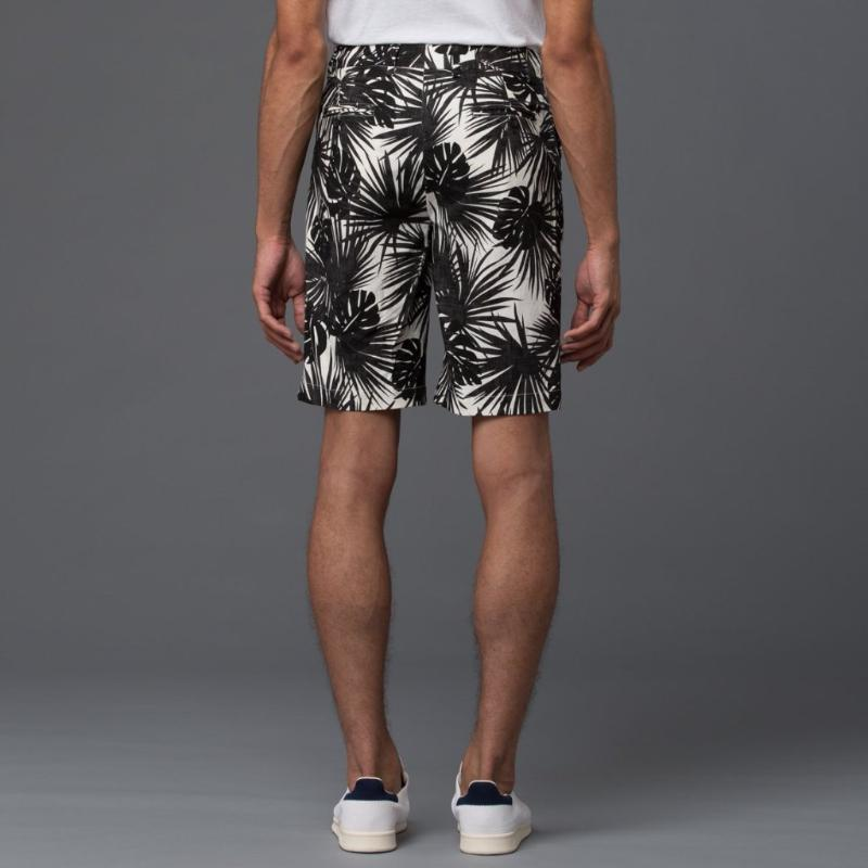 Krammer and Stoudt Black and White Floral Short