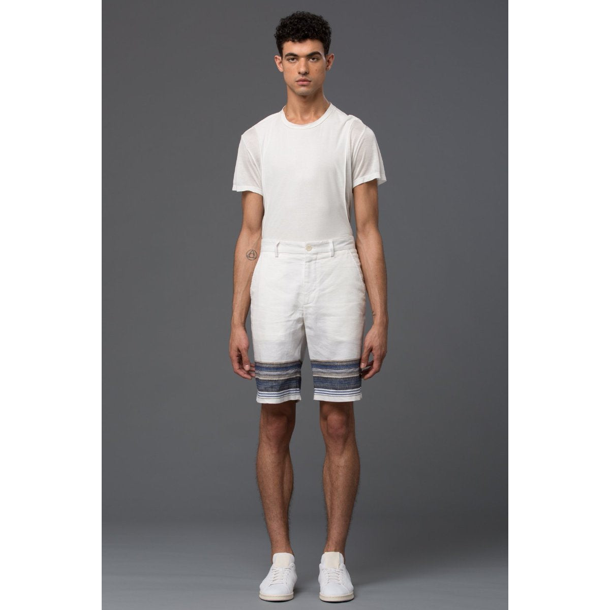 Krammer and Stoudt Casual Stripe Short