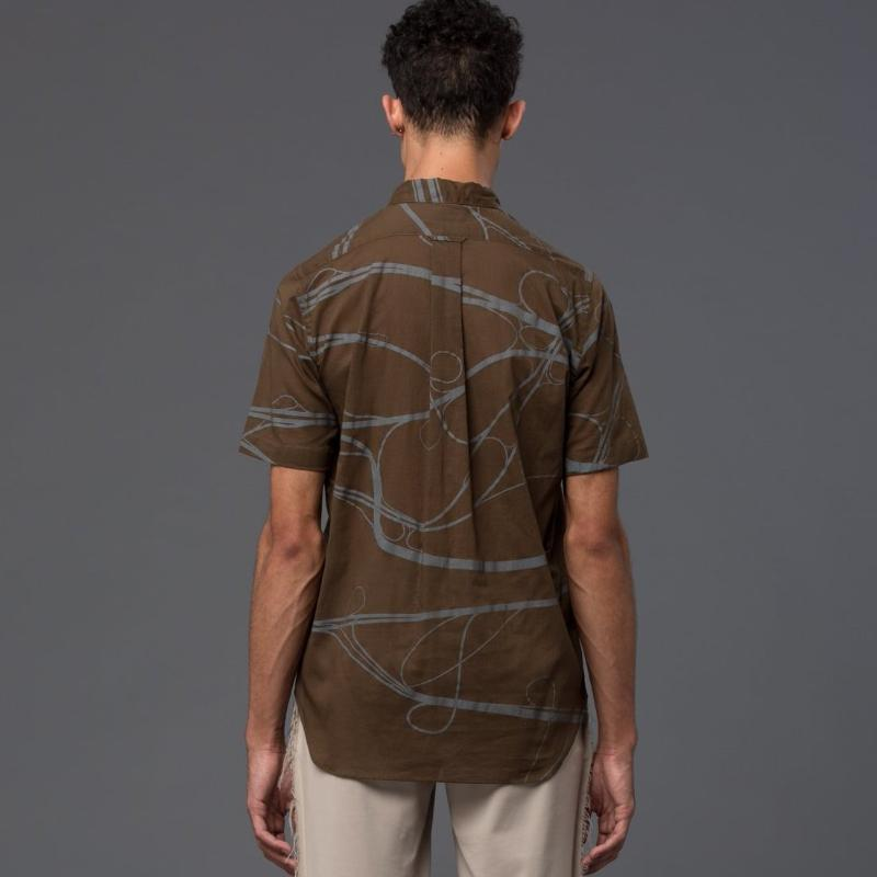 Ddugoff Arteries Print Short Sleeve Shirt