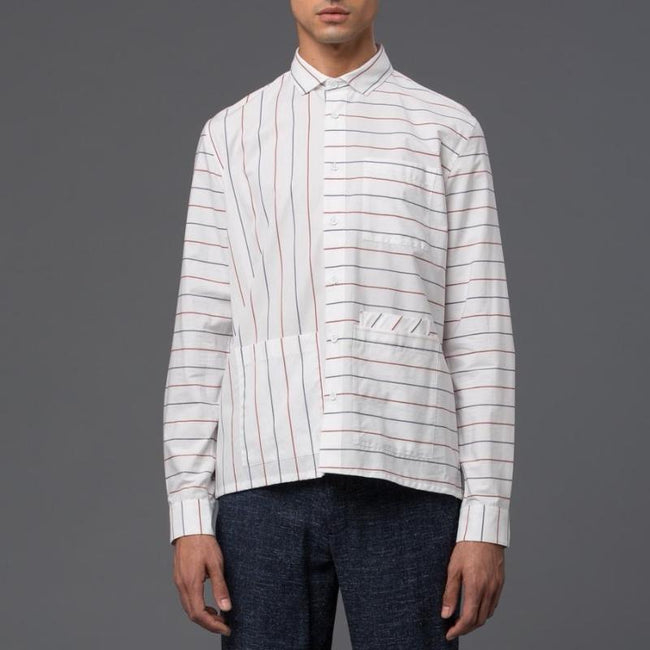 Ddugoff Striped Button Down