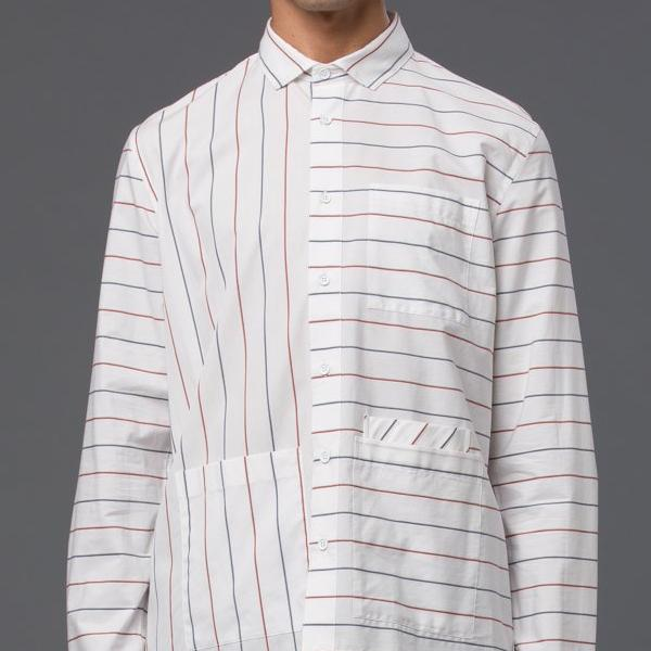 Ddugoff Sol Striped Shirt