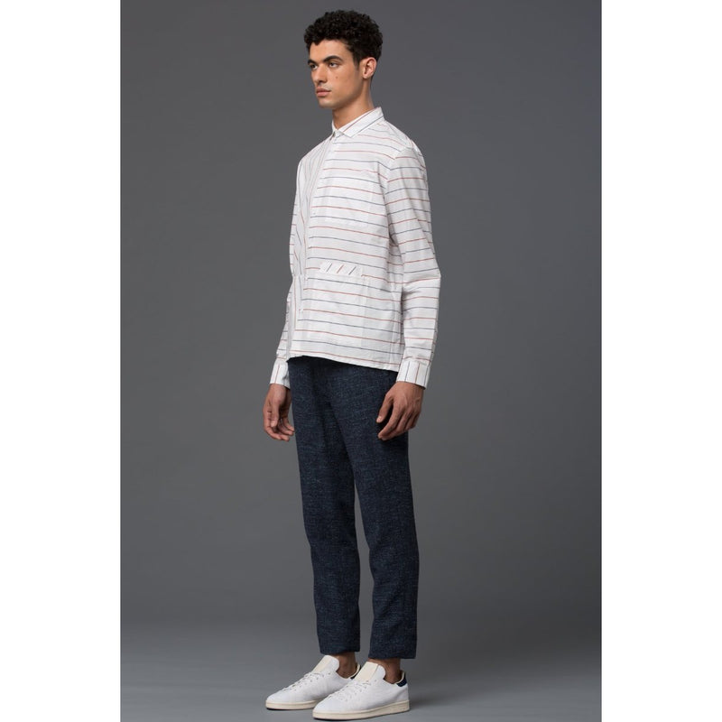 Ddugoff Striped Cotton Button Down