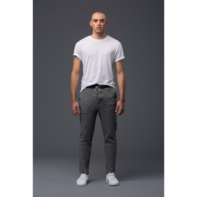 Krammer and Stoudt Grey Quilted Sweatpant