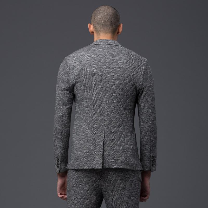 Krammer and Stoudt Grey Wool Jacket