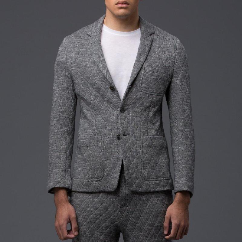 Krammer and Stoudt Quilted Luxe Knit Blazer