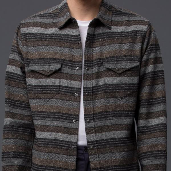 Krammer and Stoudt Striped Western Shirt
