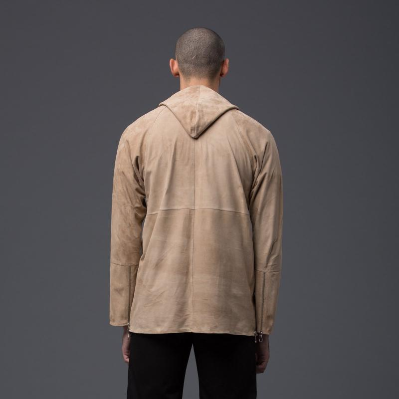 Deveaux New York Suede Outerwear