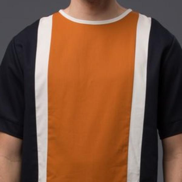 Deveaux New York Oversized Tee