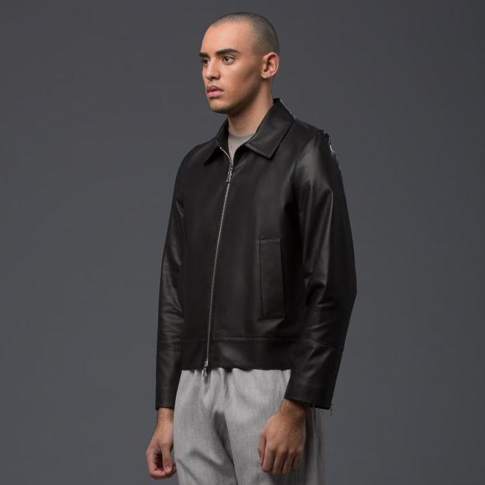 Deveaux New York Black Leather Jacket