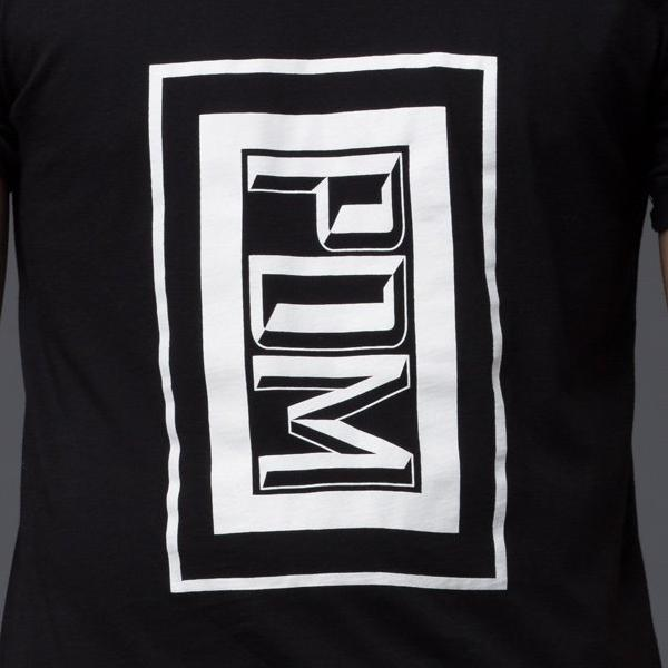 Palmiers Du Mal Black Graphic Tee Shirt
