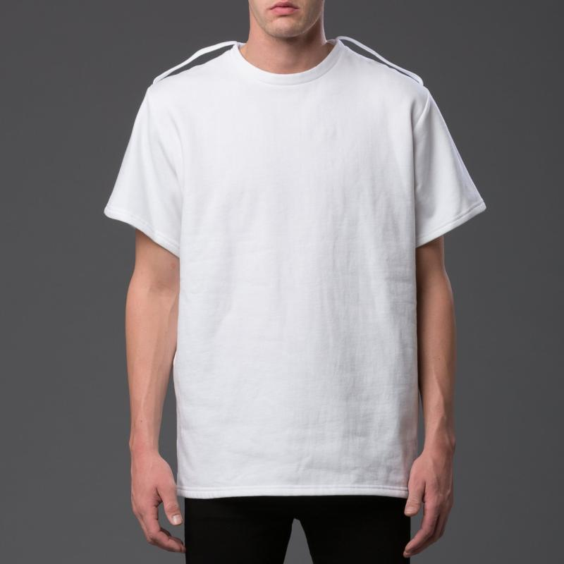NP Elliott Fleece Shoulder Strap Tee