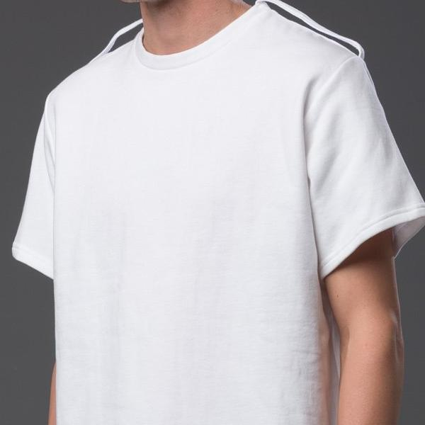 NP Elliott Oversized White Tee Shirt