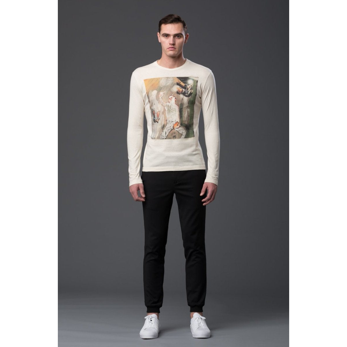 Krammer and Stoudt Long Sleeve Graphic Shirt