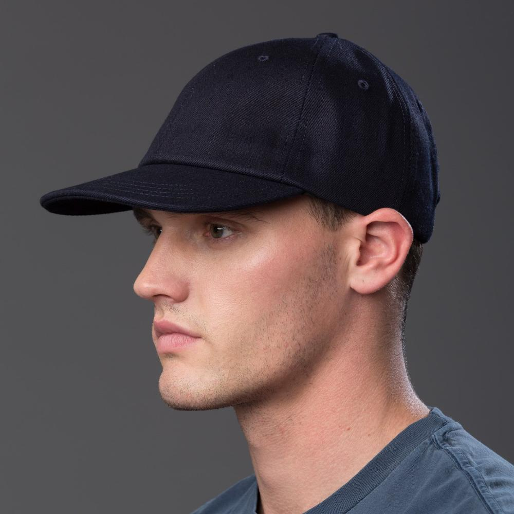 Freemans Sporting Club Denim Six Panel Baseball Cap
