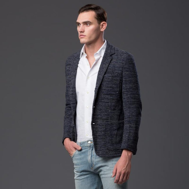 Krammer and Stoudt Navy Sportcoat