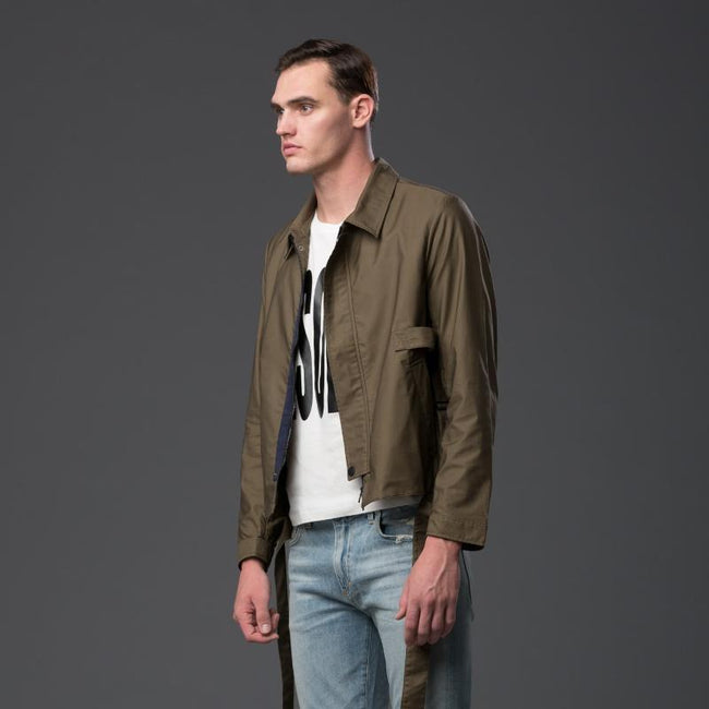 Carlos Campos Brown Bomber Jacket