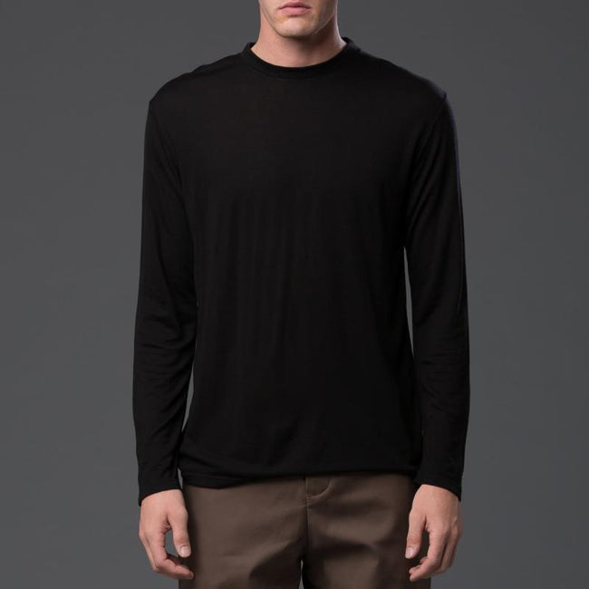 Deveaux Long Sleeve Tencel Tee