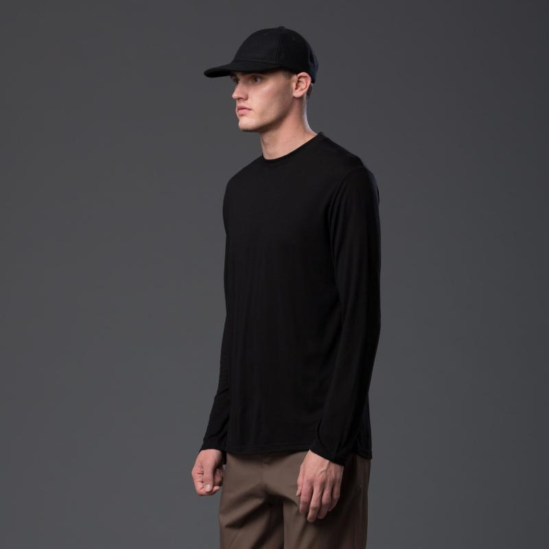 Deveaux Black Long Sleeve Shirt