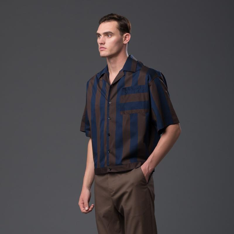 Carlos Campos Short Sleeved Oversized Shirt