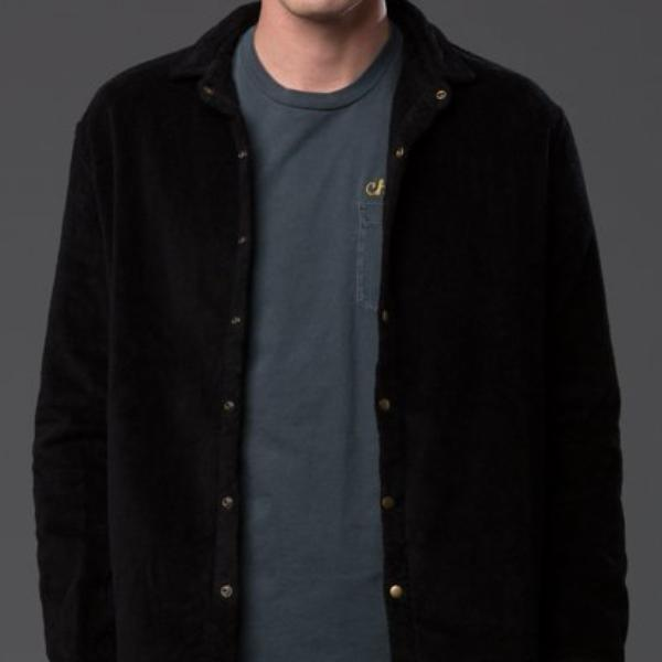 Adam Mar Montauk Long Sleeve Shirt Black